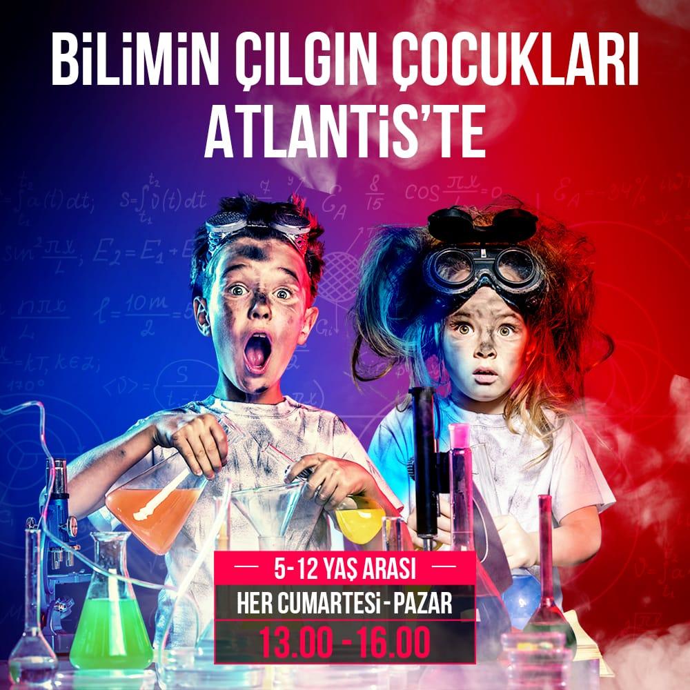 Bilimin Çılgın Çocukları Atlantis'te