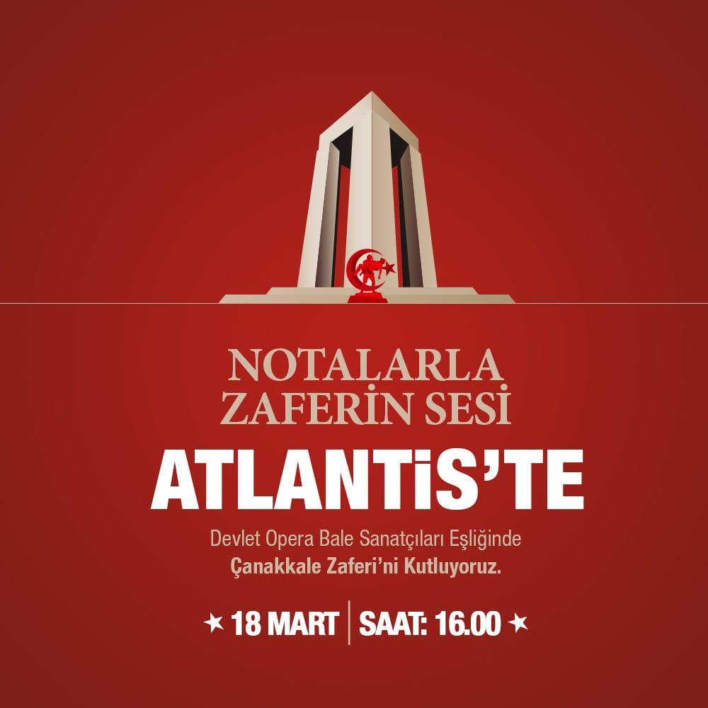 Notalarla Zaferin Sesi Atlantis'te