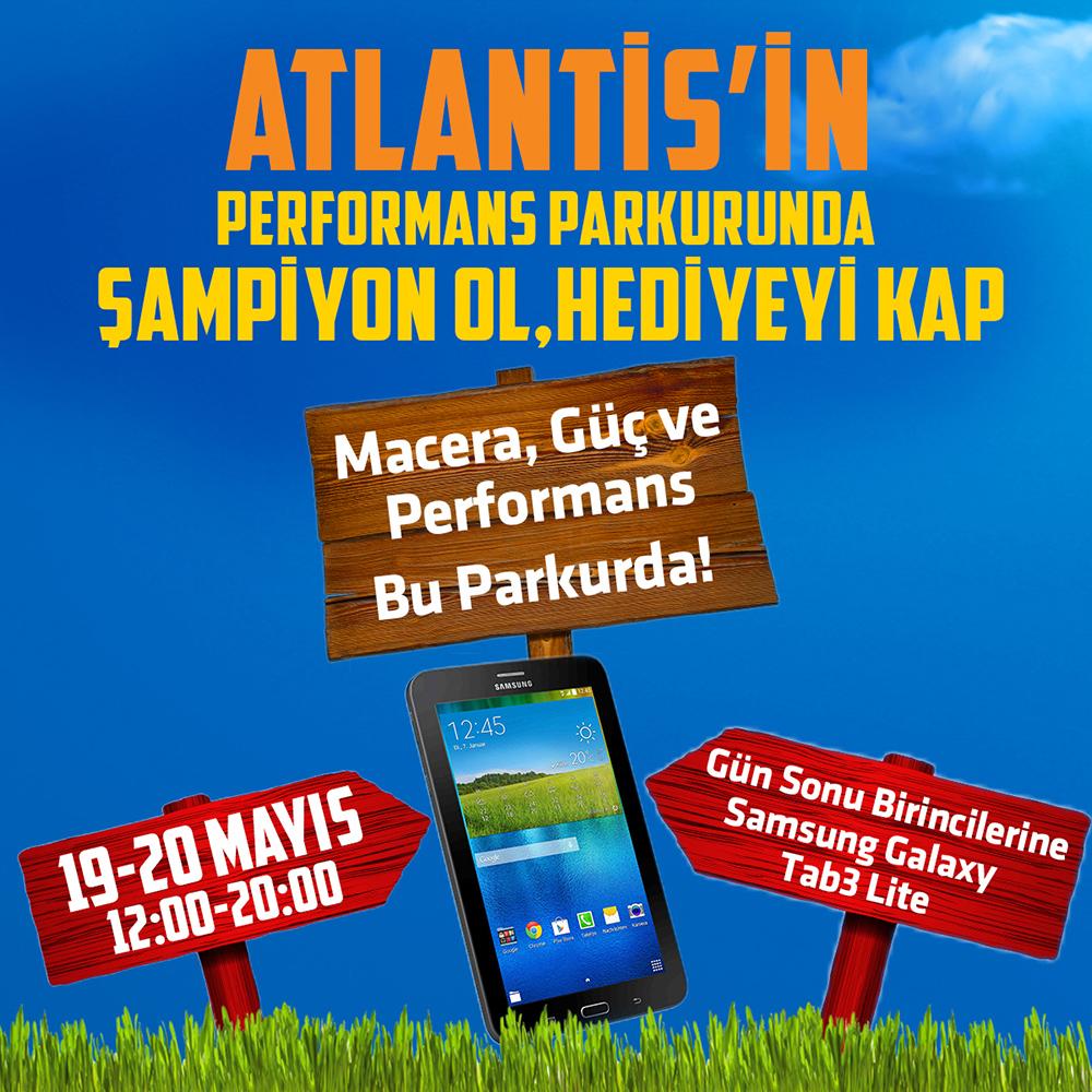 19 Mayıs performans parkuru etkinliğini