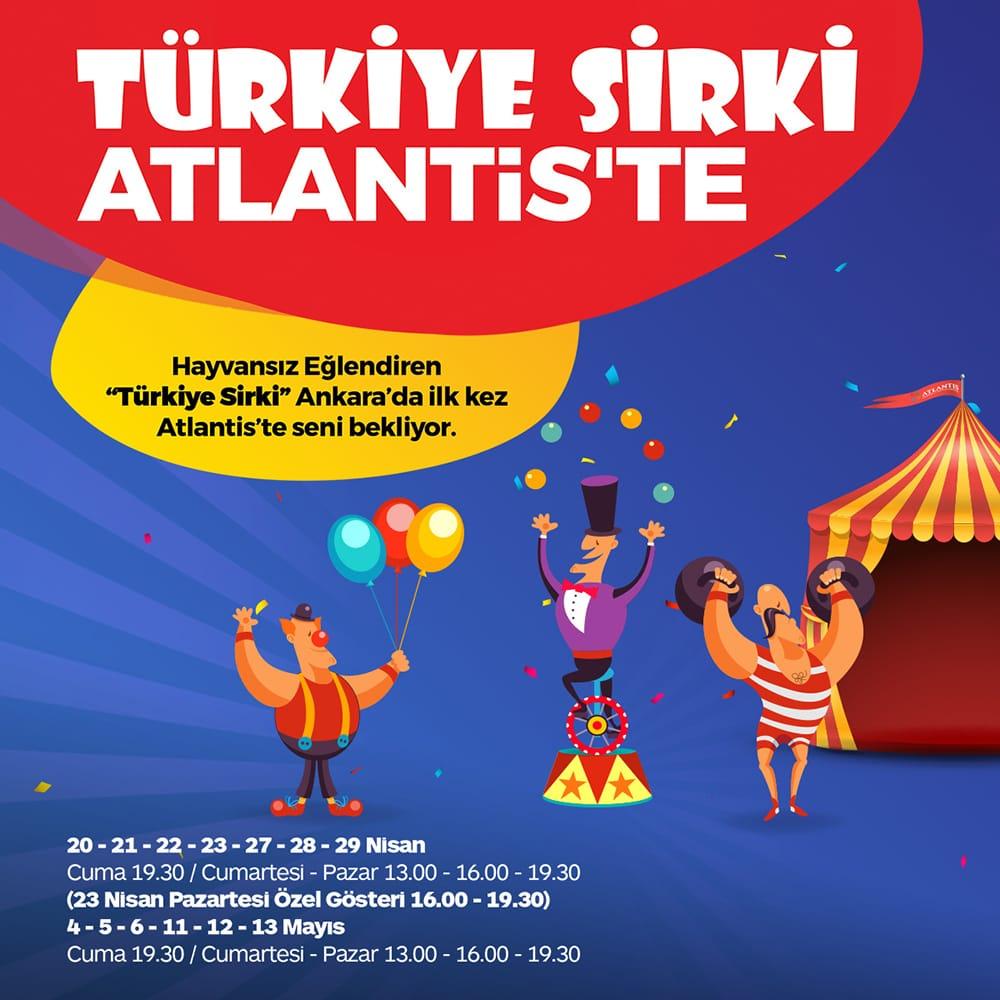 Türkiye Sirki Atlantis'te