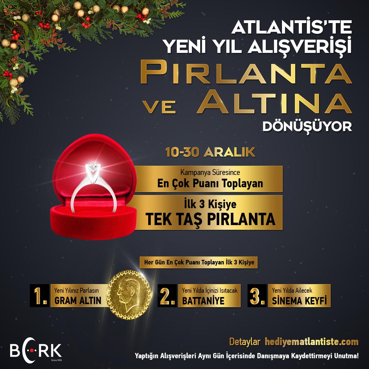 Atlantis 2019 Yeni Yıl